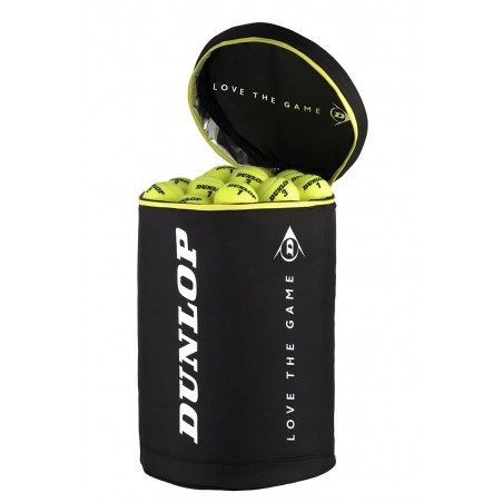 Dunlop Balls Bag (Black/Yellow)