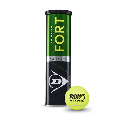 Dunlop Fort All Court Tennis Ball (Tin 4un)