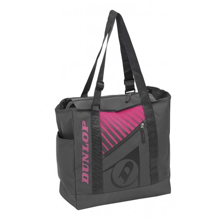 Dunlop SX Club Gym Bag (Grey,Pink)
