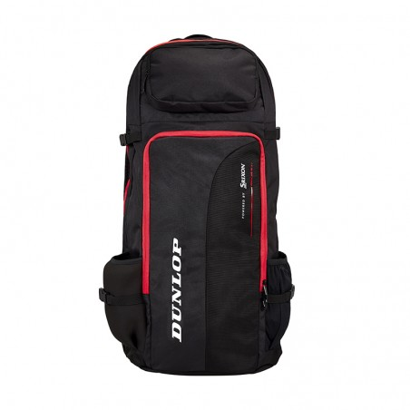 Dunlop Performance Long Backpack (Black,Red)