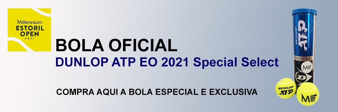 Bola Oficial Millennium Estoril Open 2021